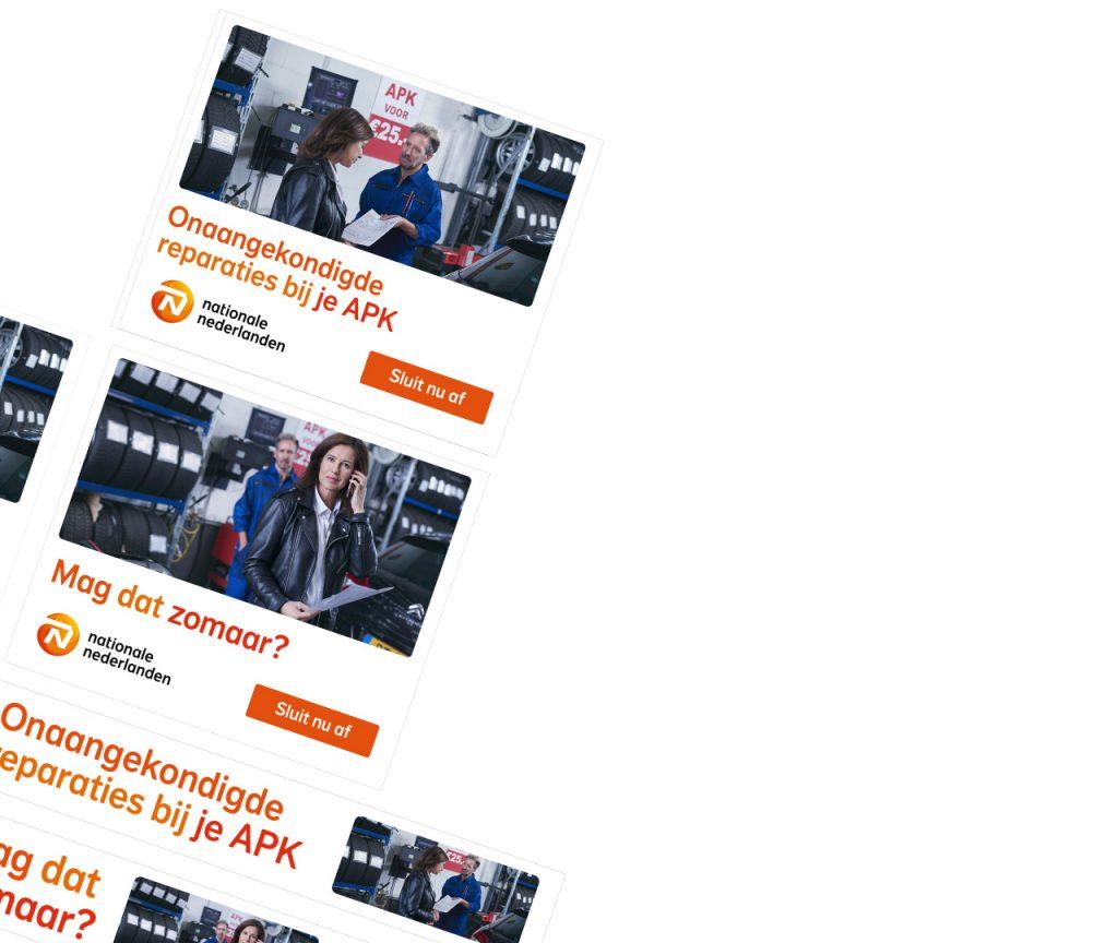 Nationale-Nederlanden Rechtsbijstandsverzekeringen campagne concepting