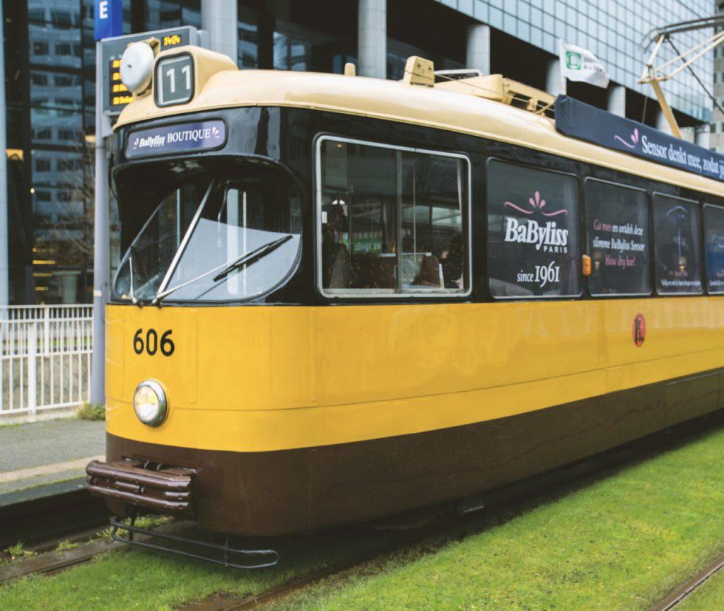 BaByliss Tram Activatie concept