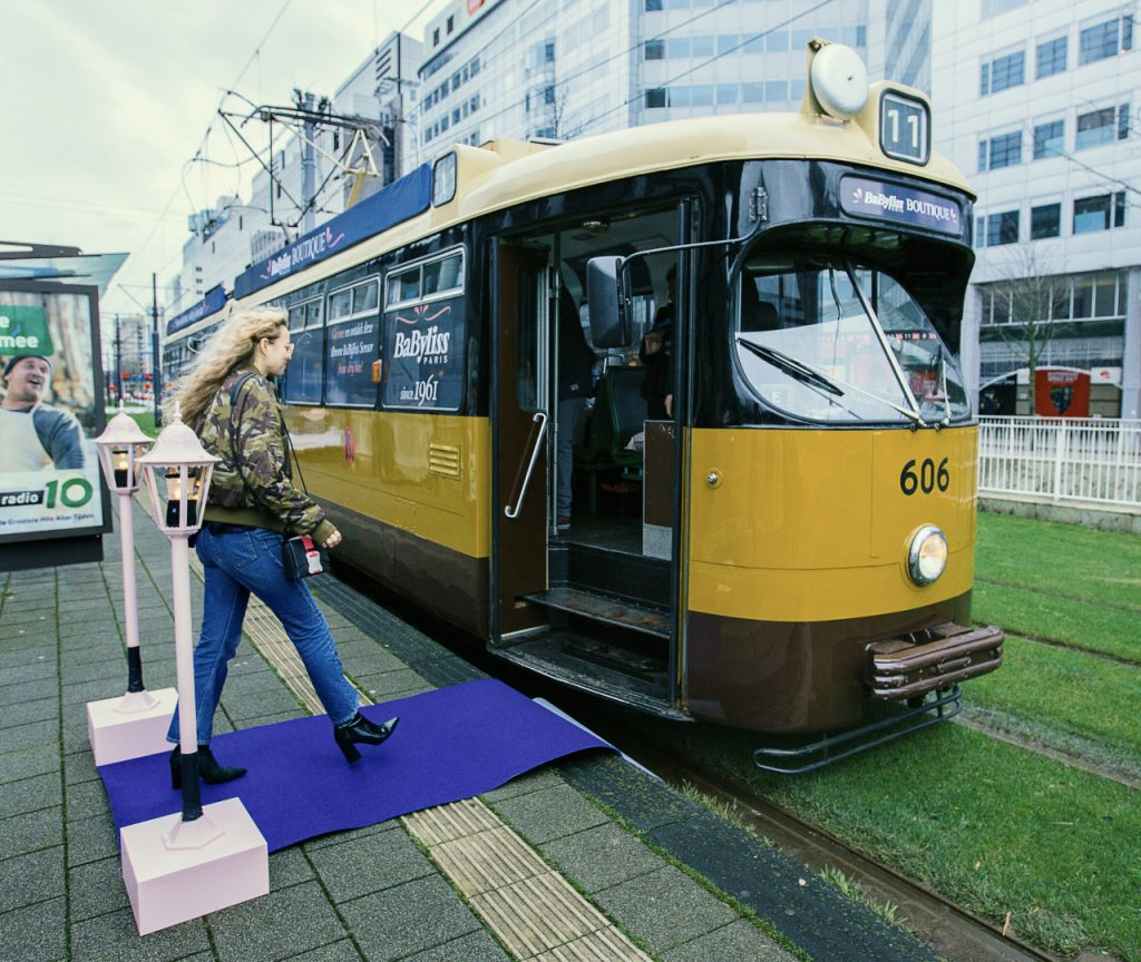 BaByliss Tram Activatie idea